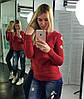 Женскийсвитер с вырезами по рукаву в расцветках., фото 3