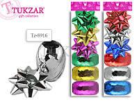 Набор для декорирования подарков: 3 банта, 3 ленты