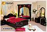 Спальный гарнитур Futura Miro Mark / Футура белый глянец (6 элементов), фото 4