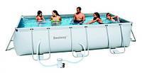 Bestway Бествей 56251 Каркасный прямоугольный бассейн