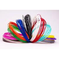 PLA пластик для 3D ручки по 5 м (Польша). Разные цвета.Сертификат качества прилагается