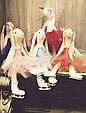 Зайцы-фигуристы, куклы-тильды 3-х размеров 45см, 80 см, 120см., фото 6