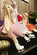 Зайцы-фигуристы, куклы-тильды 3-х размеров 45см, 80 см, 120см., фото 5
