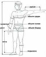 Таблица размеров гидрокостюмов, всех производителей