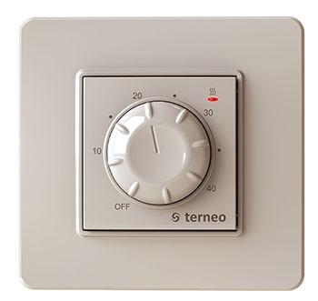 Терморегулятор Terneo rtp (слонова кістка)