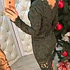 Коктейльное платье гипюр 1120, фото 5