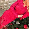 Коктейльное платье гипюр 1120, фото 2