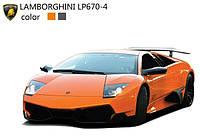 Оранжевая машинка на радиоуправлении 1:43 ShenQiWei лиценз. Lamborghini LP670 (оранжевый)