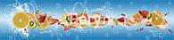 Декоративные панели панорама «ФРУКТОВЫЙ ФРЕШ»