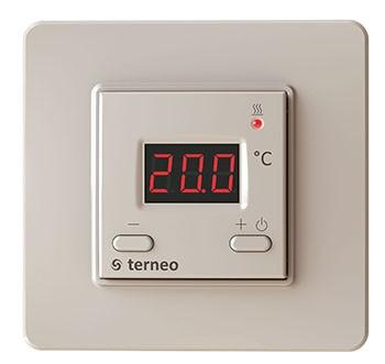 Електронний терморегулятор Terneo st (слонова кістка)