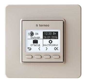 Програмований терморегулятор Terneo pro (слонова кістка)