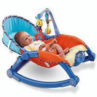 Детский шезлонг-качалка,кресло качалка JOY TOY 7179 , фото 1