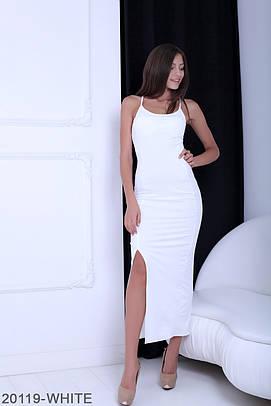 Витончене біле вечірнє плаття-максі Bless