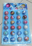 Мяч 3,2см BT-JB-0011 попрыгунчик 24шт на листе 18,5*33 ш.к./60/