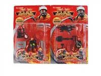 Пожарники JAMBO (арт. 9050-1) ,2 вида,пластик,блистер
