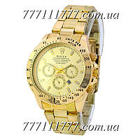 Часы мужские наручные Rolex Cosmograph Daytona Date All Gold