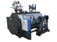 Паровой котел ВНР 1000 кг пара/час с горелкой IVAR (Италия), фото 1