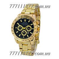 Часы мужские наручные Rolex Cosmograph Daytona Date Gold-Black