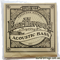 Струны Ernie Ball 2070 Earthwood Phosphor Bronze Acoustic Bass 45-95