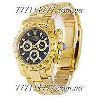 Часы мужские наручные Rolex Daytona AAA Mechanic Gold-Black