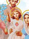 Авторская канва для вышивки бисером «Святое семейство», фото 2