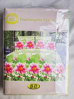 Постельное белье АХ 5D евро, расцветки варьируются