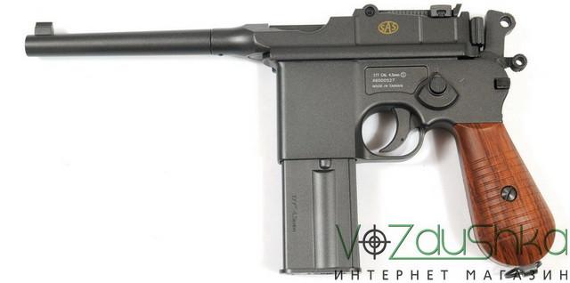 пневматический пистолет маузера