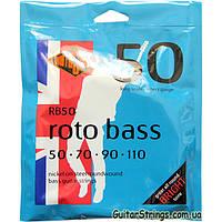 Струны Rotosound RB50 Roto Bass 50-110
