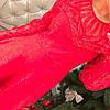 Платье жаккард с гипюром 1681, фото 6