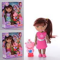 """Лялька Даша К65-F """"Dora"""" з мавпочкою 14см,3види 14*18*5см"""