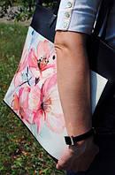 """Женска сумка """"Розовые цветы"""""""