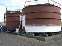 Теплоизоляция емкости и баки для хранения воды, химреактивов