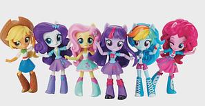 My little pony Equestria girls mini Виниловые куколки Девочки из Эквестрии