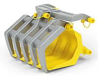 Rolly Toys Ковш для погрузки древесины rollyTimber Loader желтый