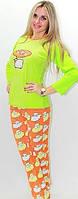 """Ночная женская пижама """"Сладкие сны"""", яркая и стильная одежда для дома, молодежная пижама супер качества"""