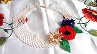 Намисто з квітами (Ожерелье с цветами  ) AN-0084