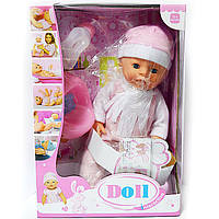 Пупс Doll 6 функцій та аксесуари