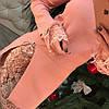 Платье трикотаж премиум с кружевом 330, фото 2