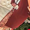 Платье трикотаж премиум с кружевом 330, фото 6