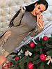 Платье трикотаж премиум с кружевом 330, фото 7