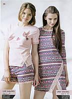 Ночная женская сорочка с длинным рукавом от ELLEN