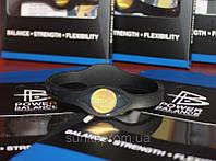 Power Balance Черная Коллекция с золотой голограммой черный браслет размер L без упаковки