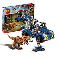 """Конструктор Lele 79095 (аналог Lego 75918) """"Преследование Тираннозавра"""", 538 дет"""