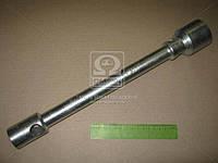 Ключ балонный ГАЗ ,ЗИЛ (21х41) (квадрат 21 под футорку, L=410 mm)(цинк) ИП-315