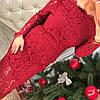 Гипюровое платье люкс 410, фото 3