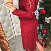 Гипюровое платье люкс 410, фото 2