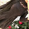 Платье жаккард с жемчугом 6836, фото 4