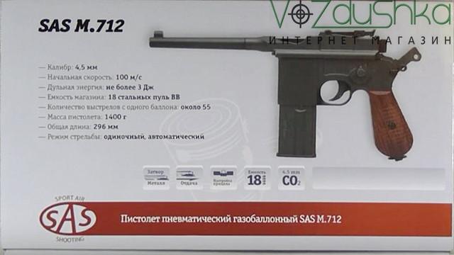 коробка sas mauser m712