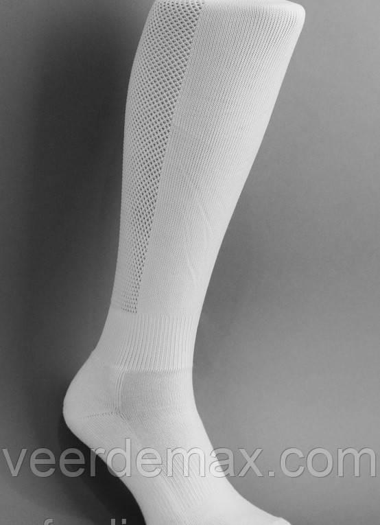 Гетры футбольные однотонные  ( плотные, усиленная пятка и носок) Цвет - белый