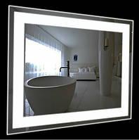 Прямоугольное зеркало led подсветкой (80х60 см)